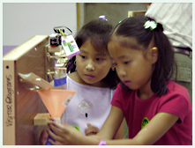 Mindfest invention day at Ft. Worth Science Museum, 2001
