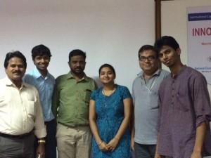 L to R: Ram, Raj, Navaram,Reema, Kumar, Sourav